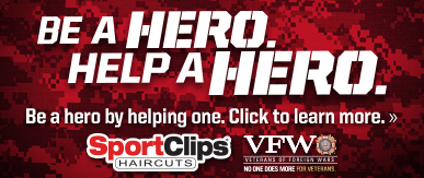 Sport Clips Haircuts of Greenwood ​ Help a Hero Campaign